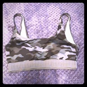 Army green Victoria secret sports bra